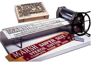 Marsh Stencil Machines